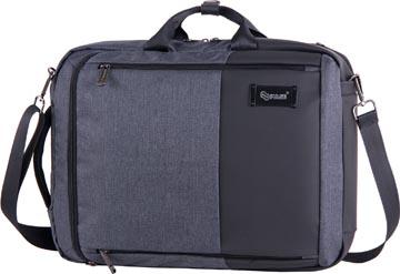 Pulse rugzak en laptoptas, zwart