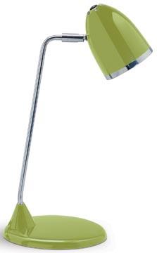 Maul bureaulamp MAULstarlet, spaarlamp, groen