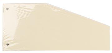 Pergamy trapezium verdeelstroken, pak van 100 stuks, gems